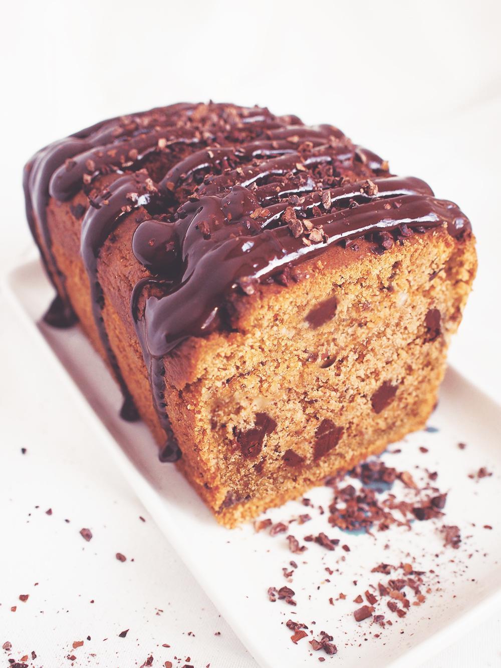 Dyniowo owsiany chlebek z czekoladą (GF) – eatmeplease.pl