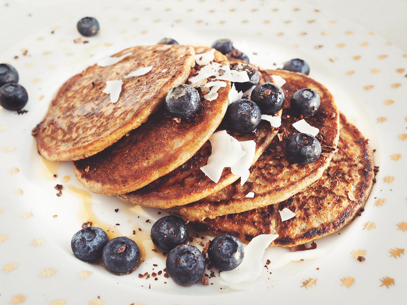 Placki bananowe (pancakes)