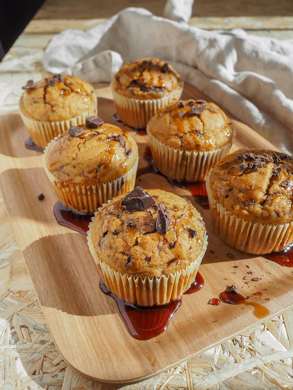 Dyniowe muffinki zczekoladą