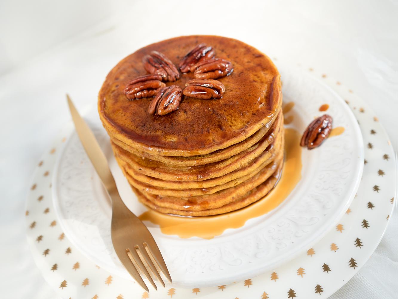 Placki dyniowe – pumpkin pancakes