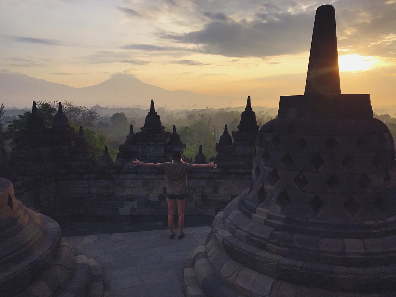 Jawa, świątynia Borobudur