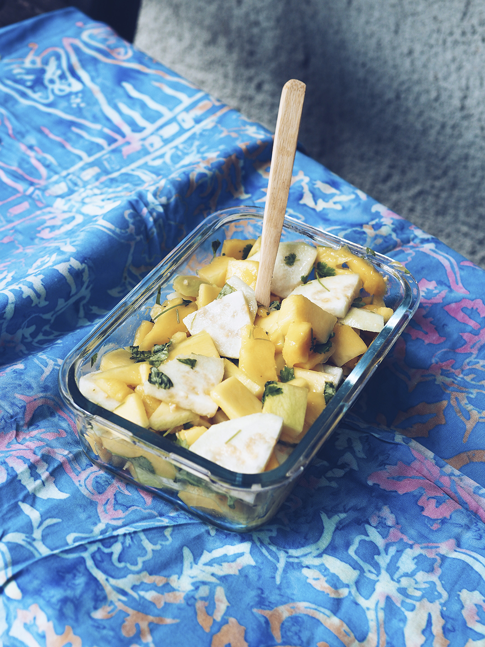Sałatka zzielonego mango – eatmeplease.pl
