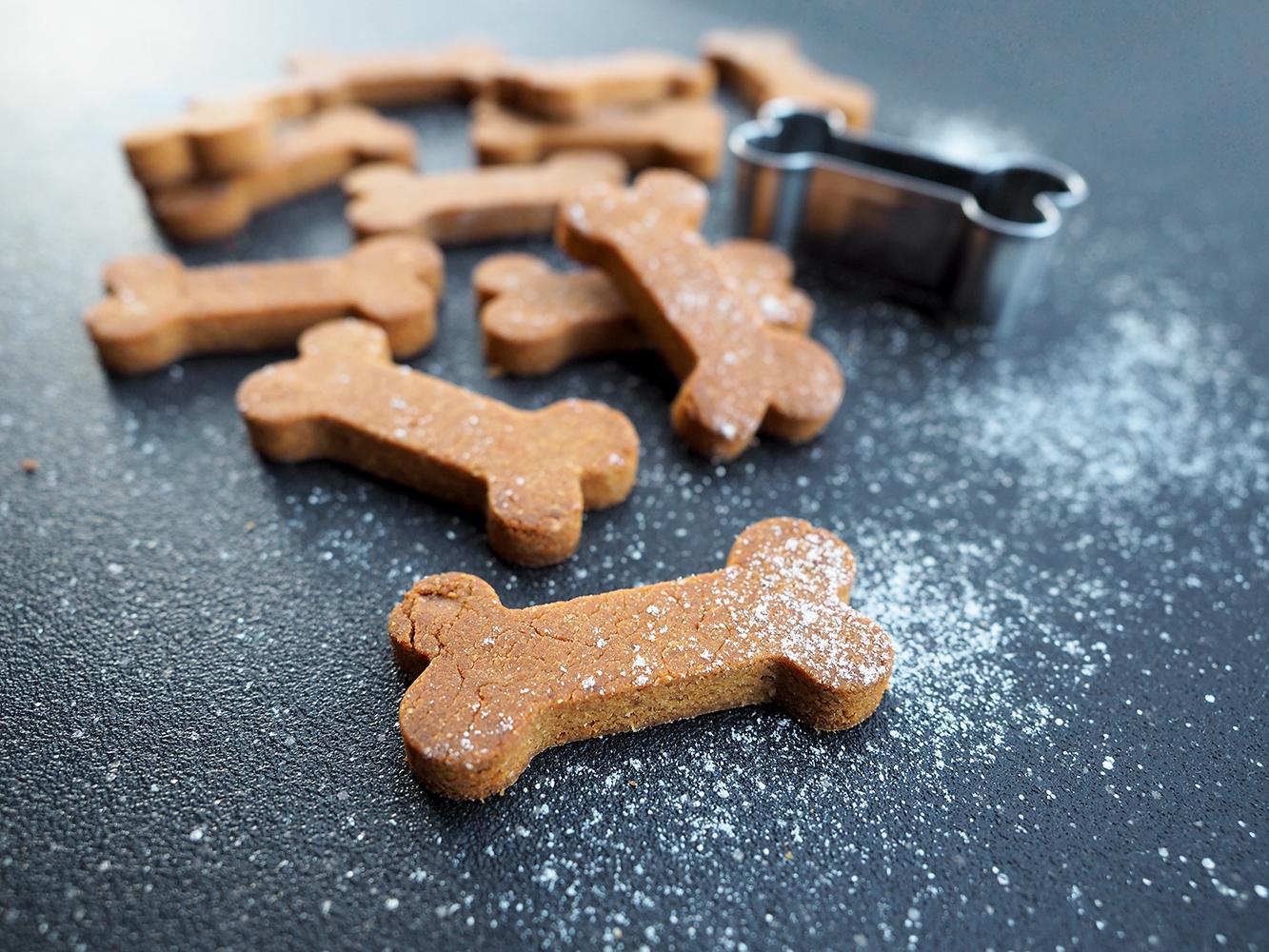 Bezglutenowe psie ciasteczka