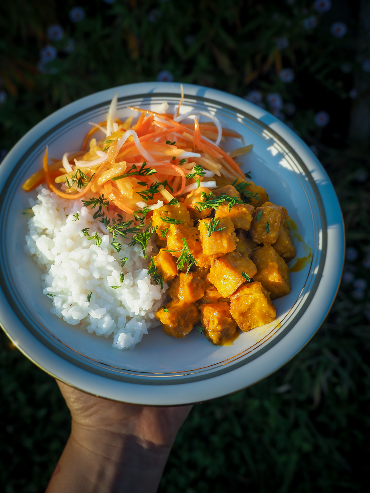 Spicy mango tofu – eatmeplease.pl