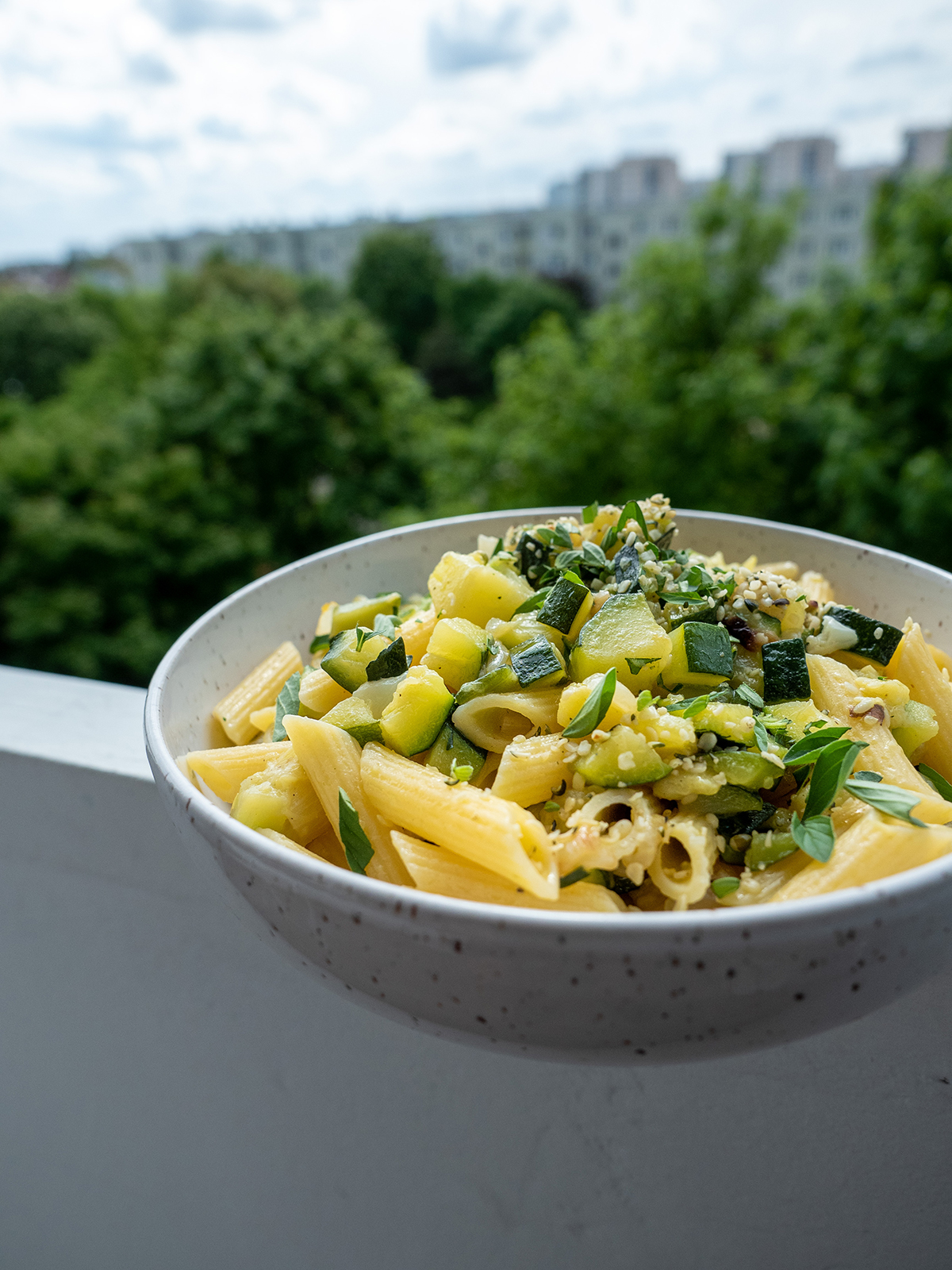 Penne zcukinią – eatmeplease.pl